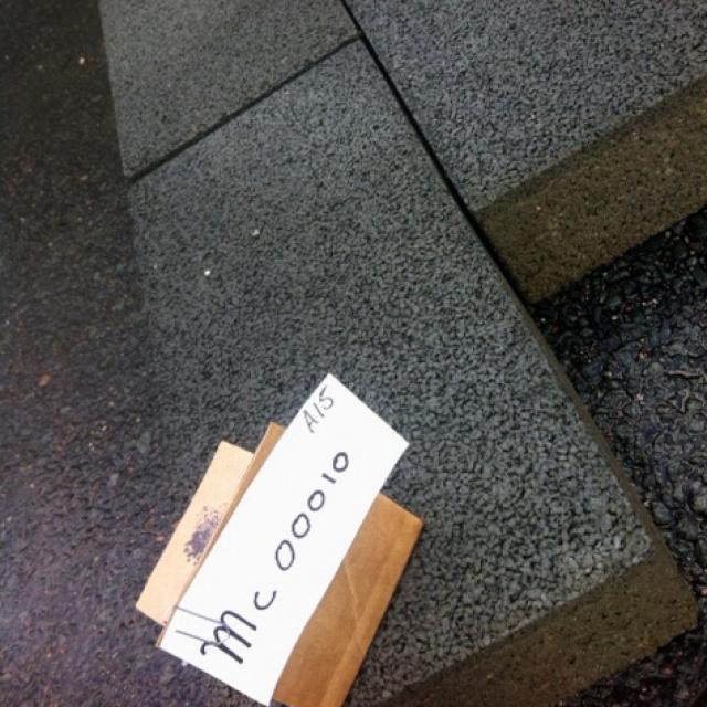 Tegels antraciet grijs mc0010 40x20x8 for M2 berekenen tegels