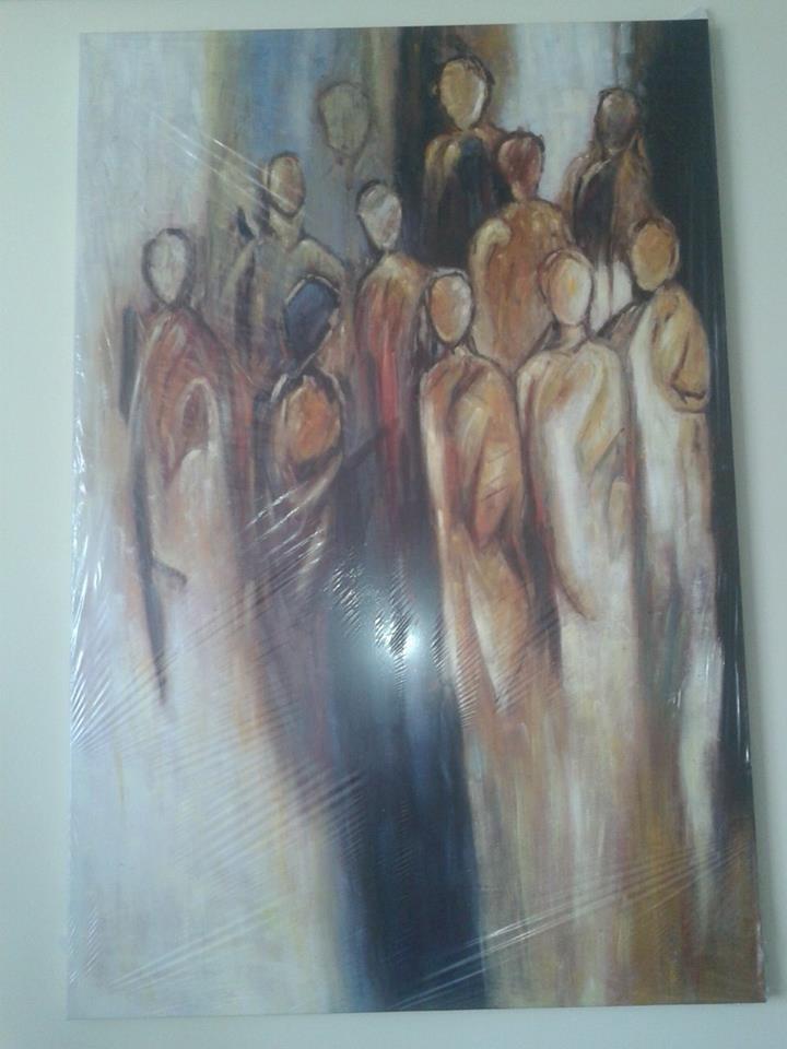 Canvas schilderij het koor 180x120x0 - Decoratie schilderij gang ...