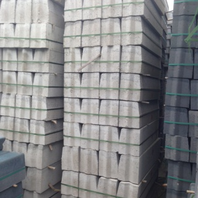 Trottoirbanden grijs (100+ stuks)