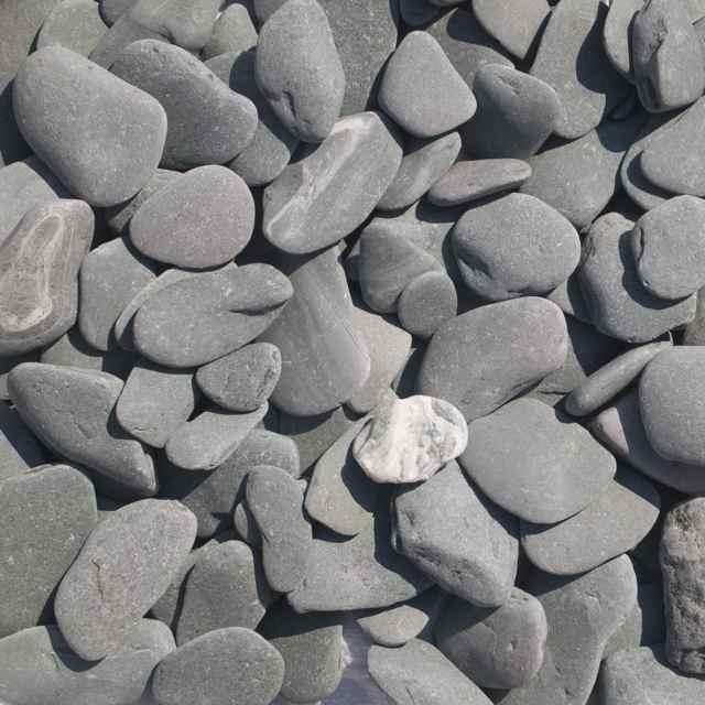Flat pebbles groen 30/60