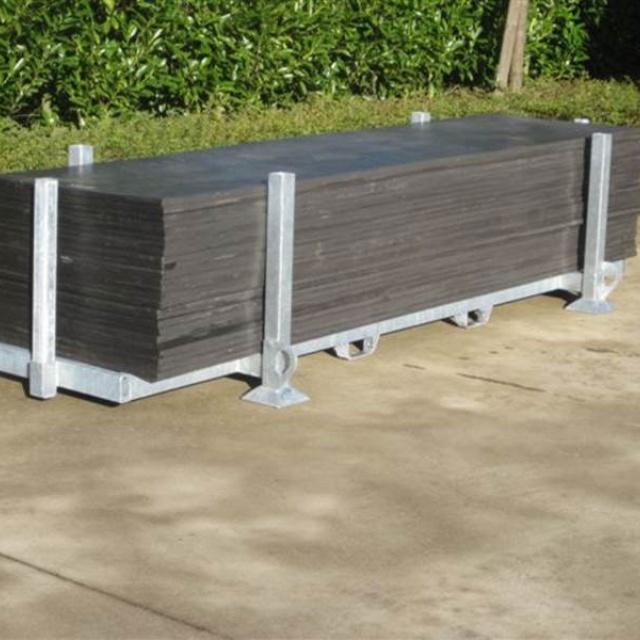 Opslagbox voor kunststof rijplaat