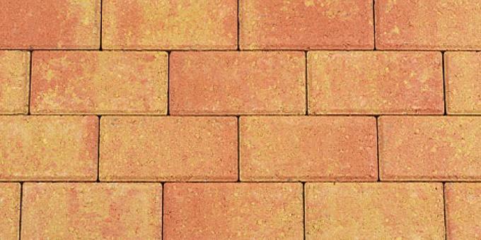 Betonklinkers Terracotta Geel (BSS1406)